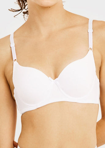 Full Cup Plain Bra (6 PACK)