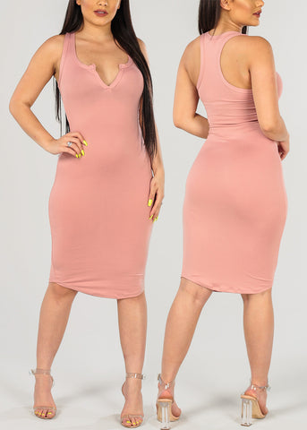 Sleeveless V Neck Assorted Colors Mega Pack Deal Dresses On Sale Clearance At Affordable Price