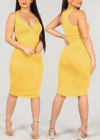 Image of Sleeveless Bodycon Dresses (3 PACK G61)