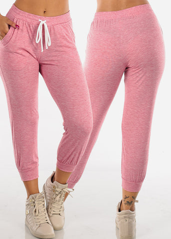 Image of Essential basic Cropped Assorted Colors Jogger Sweatpants Mega Pack Sale Savings