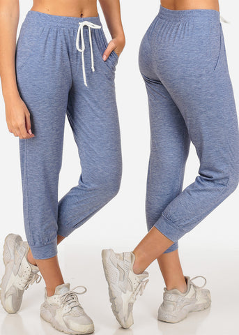 Essential basic Cropped Assorted Colors Jogger Sweatpants Mega Pack Sale Savings