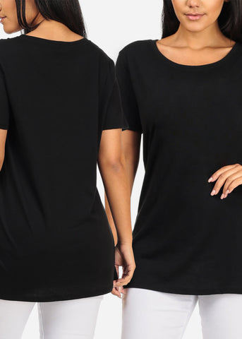 Image of Oversized Basic Tops (3 PACK G52)