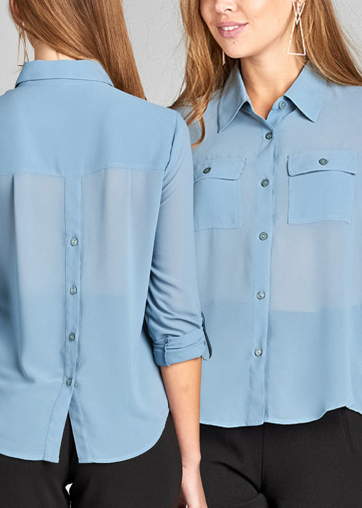 Button Up Blouses (3 PACK G52)
