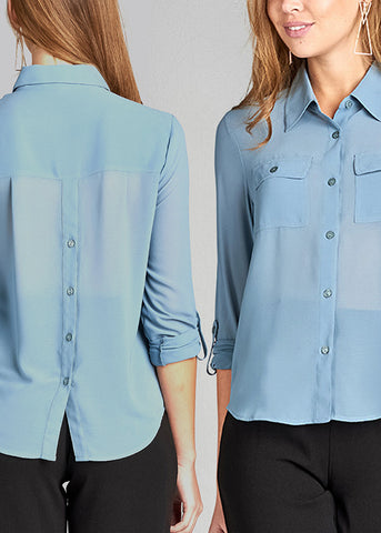 Button Up Blouses (3 PACK G14)