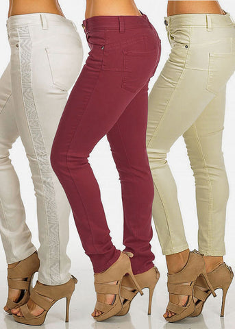 Image of Cache Brand Pants (3 Pack G43)
