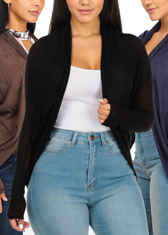 Lightweight Cardigans (3 PACK)