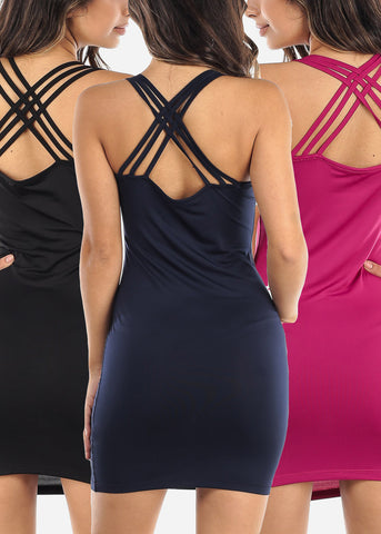 Image of Tank Top Dresses (3 PACK)