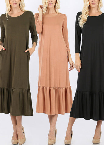 Image of Raffle Maxi Dresses (3 PACK)