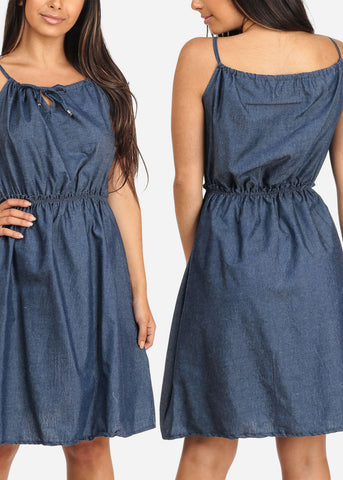 Sleeveless Denim Dresses (3 PACK G54)