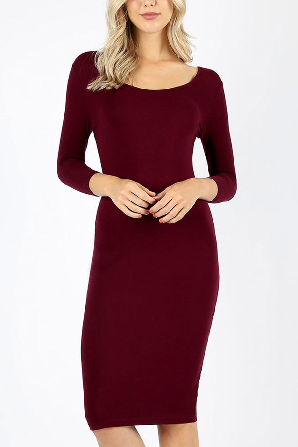 Basic Bodycon Dresses (3 PACK G73)