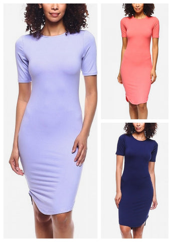 Bodycon Dresses (3 PACK)