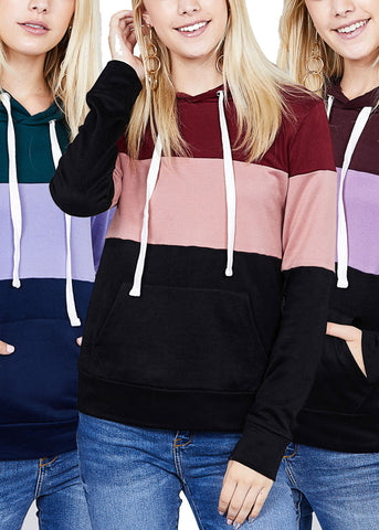 Striped Hoodies (3 PACK)