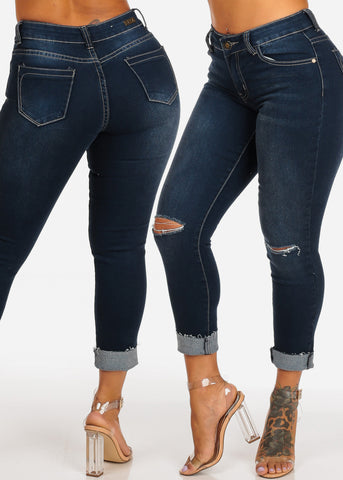 SIZE 5 Assorted Skinny Jeans (3 PACK G32)