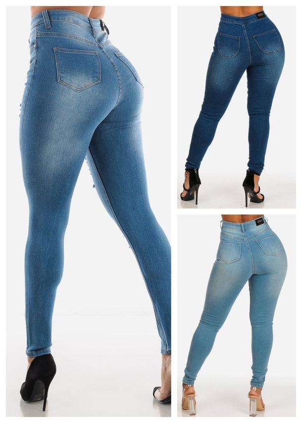 Jeans (Size 11, 13) (3 PACK) (G75)