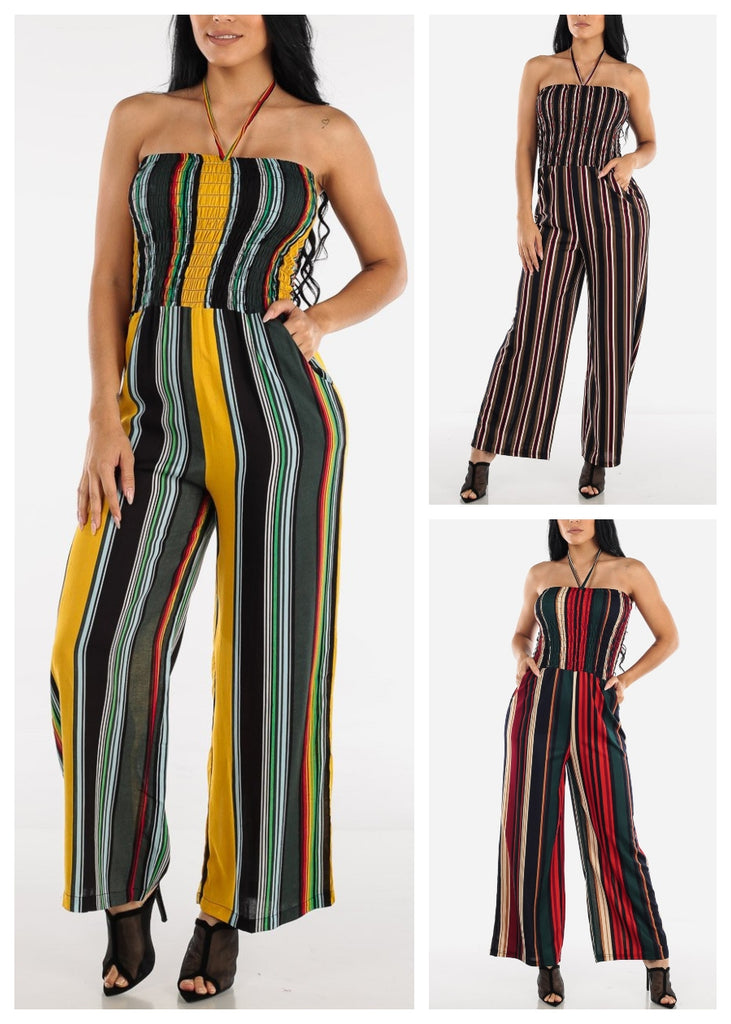 Stripe Jumpsuits (3 PACK)