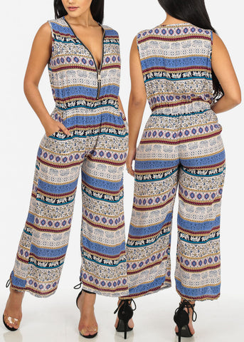 Printed Jumpsuits (3 PACK G52)