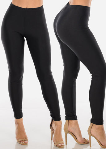 Metallic Leggings (3 PACK G72)