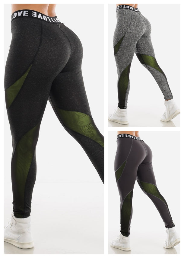 Activewear High Rise Leggings