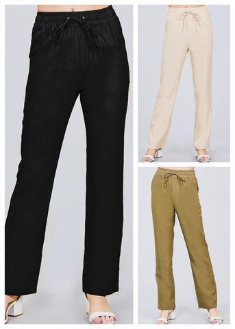 Image of Linen Pants (3 Pack)