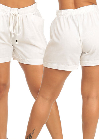 Image of Linen Shorts (3 PACK G32)