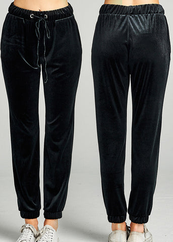 Image of Velvet Jogger Pants (3 PACK G52)