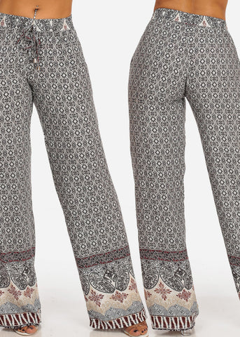 Image of Lightweight Printed Pants (3 PACK G52)