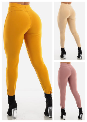 Image of Butt Lifting Skinny Pants (3 Pack G24)