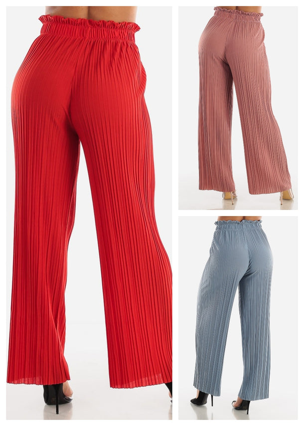 Wide Legged Pants (3 PACK G64)