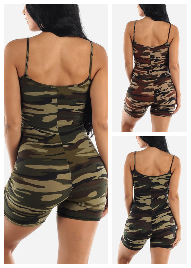 Army Rompers (3 PACK) (G42)