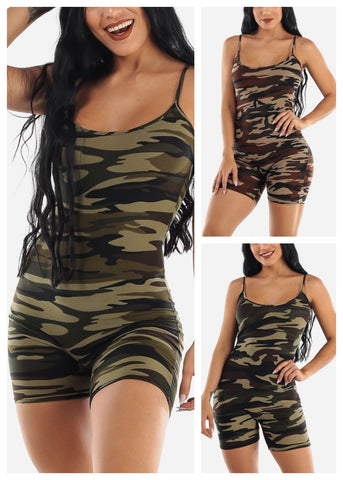 Army Rompers (3 PACK)
