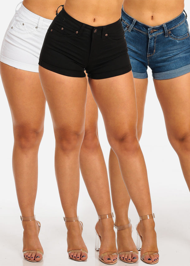 Cute Assorted Denim Shorts Butt Lifting Mega Pack Deal Savings On Sale