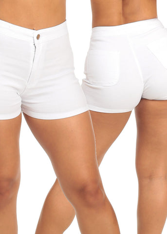 Image of High Waist Shorty Shorts (3 PACK G41)