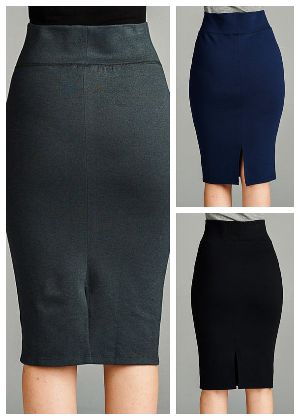 Pencil Skirts (3 PACK) (G43)