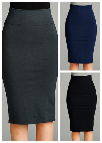 Pencil Skirts (3 PACK)