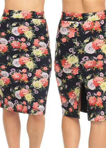 Floral Midi Skirts (3 PACK G63)
