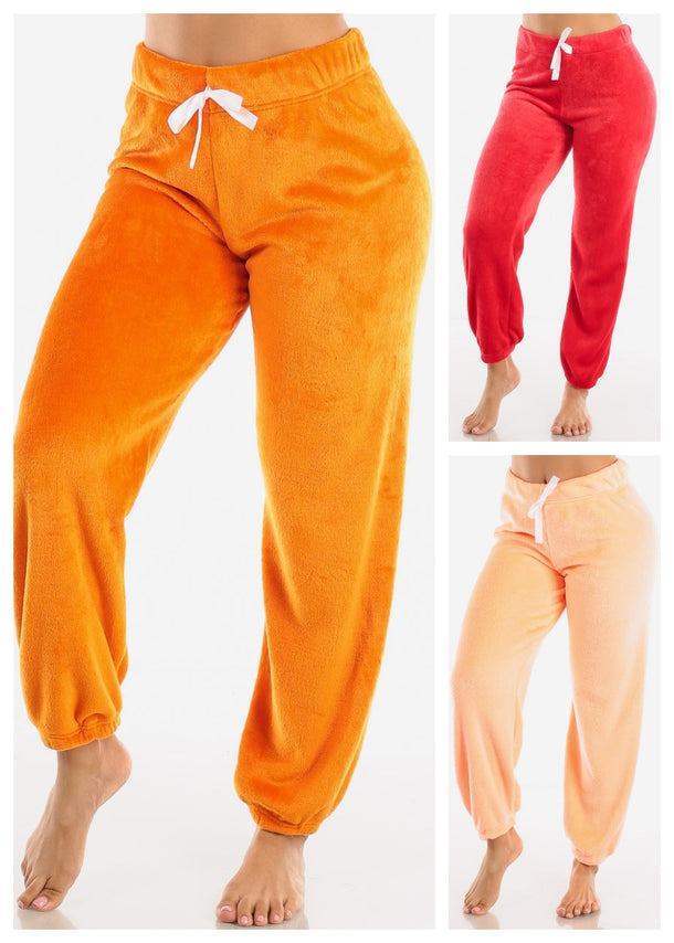 Plush Pajama Pants (3 PACK G45)