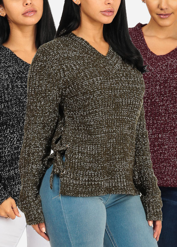 3 Pc Pack Knitted Sweaters G12