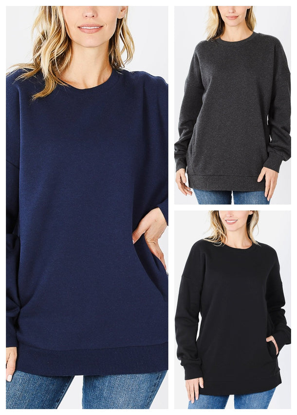 Sweatshirts W Pockets (3 PACK)