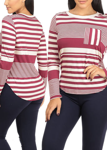 Image of 3 Pc Pack Striped Tunics G44