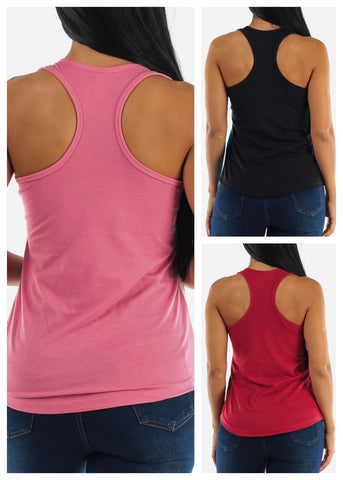 Tank Tops  (3 Pack)