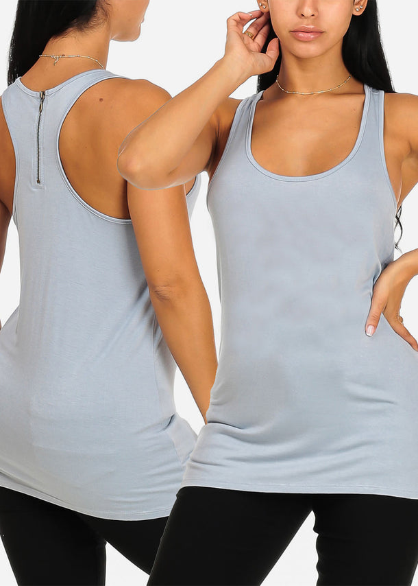 Sleeveless Basic Tops (3 PACK G73)