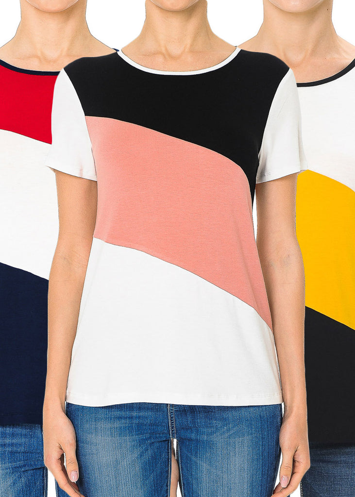 Colorblock Tops (3 PACK)