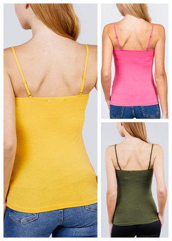 Cotton Tank Tops Sleeveless (3 PACK)