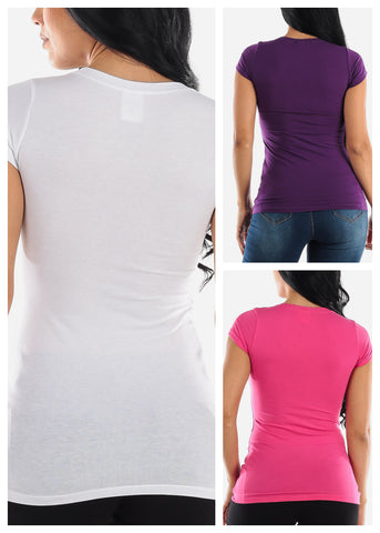 Basic Tops (3 PACK)