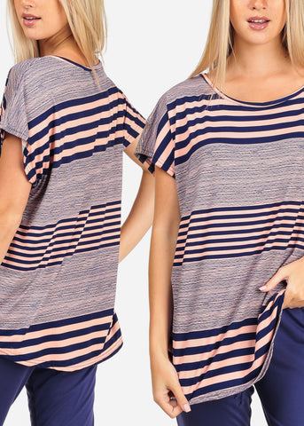 Stripe Tunics (3 PACK G61)