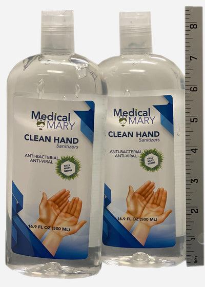 16oz Sanitzers MADE IN USA (2 pack)