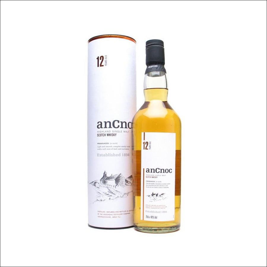 AnCnoc 12 Year Old - Whisky Drop
