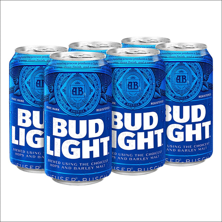 Bud Light 6 Pack - Whisky Drop