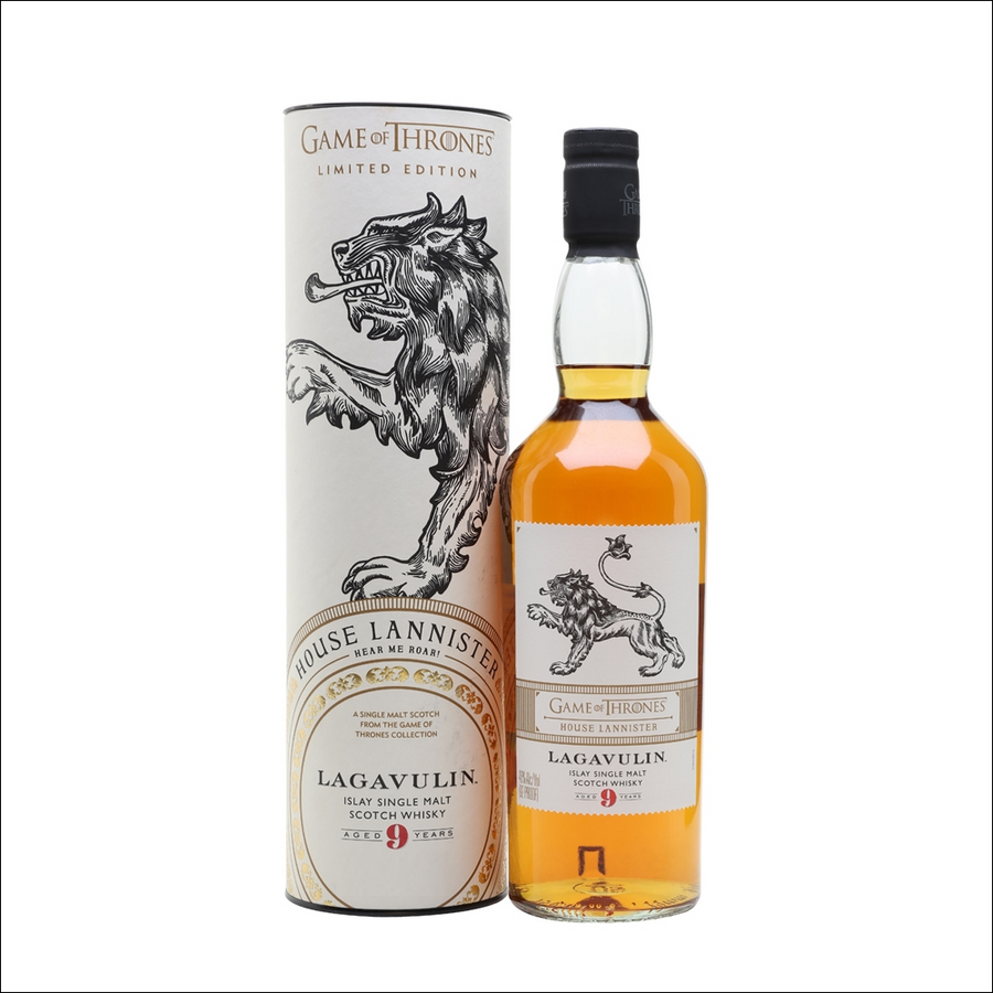 Lagavulin 9 Year Old - Game Of Thrones House Lannister Edition - Whisky Drop