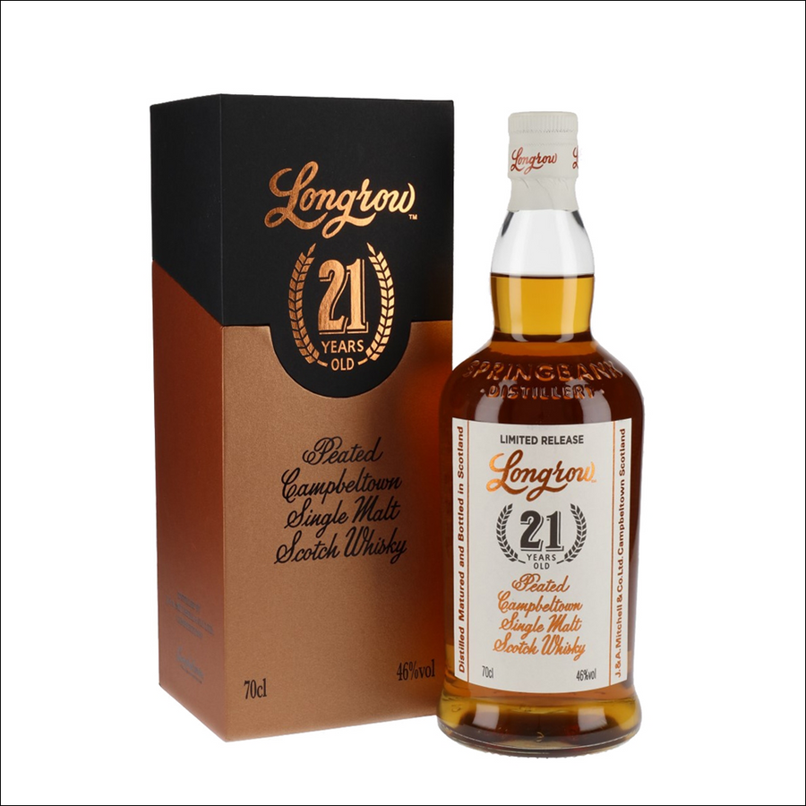 Longrow 21 Year Old 2020 - Whisky Drop